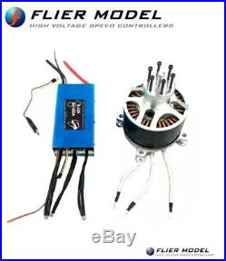 120100 Outrunner Brushless Motor ESC 450A Air 22S paramotor hoverbike Prototype