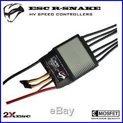 150A TWIN ESC 16S LiPo 68V for Electric Skateboard for 2 Brushless (BLDC) Motors
