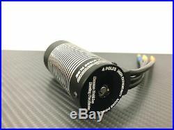 1/10 4 Pole RC Brushless Motor Fits 5mm 1/8 RC Buggy Sensorless ESC 3674 2650KV