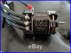 1/10 Sensored Brushless Combo Hobbywing XR10 Pro 160a ESC with 17.5T V10 V3 Motor