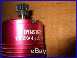 1/8 Dynamite FUZE 100A DYNS2700 ESC+1600KV DYNS1632 Brushless MotorNO RESERVE