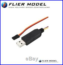 200A Car Flier ESC 12S LiPo with 12A BEC for Brushless Motors FREE Express