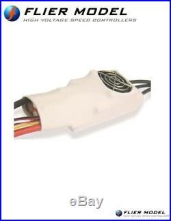 300A Car ESC 12S Flier + USB Link for 1/5 Brushless Motor sss leopard castle etc