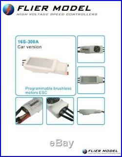 300A Car ESC 16S LiPo Flier +USB Link 1/5 Brushless Motor Losi sss xl-x max5 tp