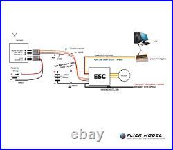 320A Boat ESC 3-16S LiPo Flier for Brushless Motors + USB LINK