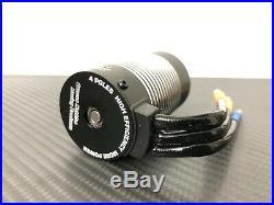 3660 3800KV 1/10 4 Pole Brushless Motor Fits 3.175mm 1/10 RC Car Sensorless ESC