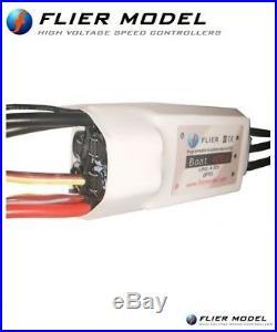 400A Boat Marine ESC 16S Flier + Programming-Box + USB Link for brushless motor