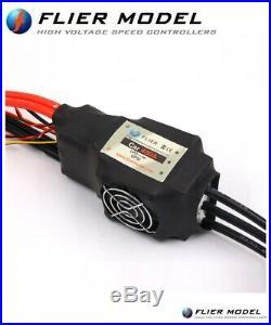 400A Car or E-Bike ESC 22S 90V Flier + USB Link for 1/5 Brushless motors