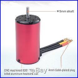 4076 2000KV Brushless Motor 150A ESC Electric Speed Controller for 18 RC Car