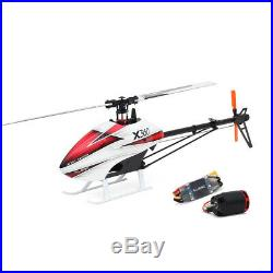 ALZRC X360 FBL 6CH 3D Fly RC Helicopter with 2525 Motor+50A Brushless ESC Kit W9E2