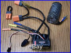 Arrma BLX 2050 4 Pole Brushless Motor &BLX185 6s ESC V4 Outcast Notorious Senton