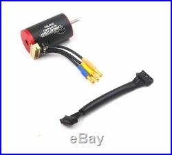 Axial SCX-24 AE-6 ugrade sensored Brushless ESC Motor combo w rev 3wire Rx +CARD