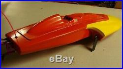 Bandit Boats three point electric race hydro Aquacraft motor 100amp cooled ESC