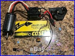 Caster Creastions Mamba 1/8 ESC/2200KV Brushless Motor