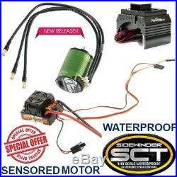 Castle Creations 1/10 SV3 Sidewinder SCT ESC 1410-3800kv Motor Combo with Fan Gun