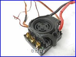 Castle Creations Mamba Monster 2 1/8 Brushless ESC with 4-Pole 1550kv Motor