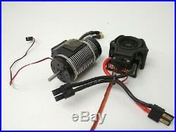 Castle Creations Mamba Monster Gen 1 ESC with 2200kv 1/8 Brushless Motor Traxxas