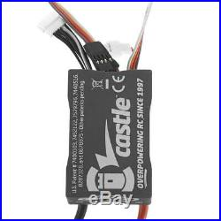 Castle Creations Mamba X 1/10 Sensored 25.2V Waterproof ESC & 1406 7700KV Motor