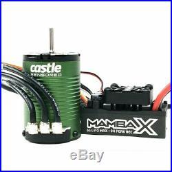 Castle Creations Mamba X ESC/1410-3800kv Sensored Brushless Motor Combo