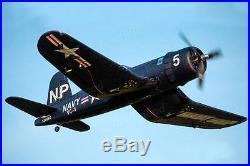 Dynam F4U Corsair 50'' Brushless PNF RC Airplane RETRACTS SERVOS MOTOR ESC ARTF