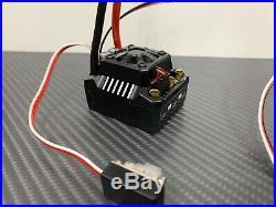 Ezrun Max10 SCT 120A 1/10 Brushless ESC Fits Hobbywing Motor Traxxas Slash 4X4