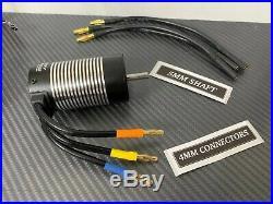 Ezrun Max10 SCT 80A 3665 3200KV 1/10 RC Brushless ESC Motor Combo For Car Truck