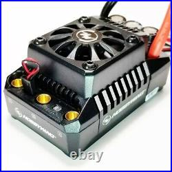 HOBBYWING EZRUN MAX 5 ESC (3-8S) & 56113 800kv MOTOR WITH QS8 & RED STRAPS