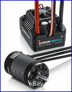 HOBBYWING EZRUN Max10 SCT ESC / 3660 SL Brushless 3200KV G2 Motor 110 4WD