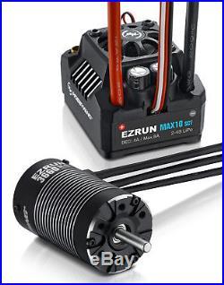 HOBBYWING EZRUN Max10 SCT ESC / 3660 SL Brushless 4000KV G2 Motor 110 4WD