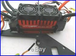 HPI Baja 1/5 Electric Conversion 200 Amp ESC 8S Brushless Motor Kit Aluminum Fan