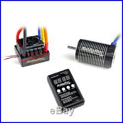 HobbyStar 1/8 Combo, 120A ESC, 4068 Brushless Sensorless Motor 2400KV + Card
