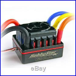 HobbyStar 1/8 Combo, 120A ESC, 4068 Brushless Sensorless Motor 2650KV + Card