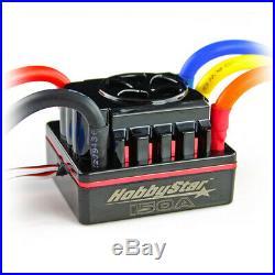 HobbyStar 1/8 Combo, 150A ESC, 4076 Brushless Sensorless Motor 1700KV + Card