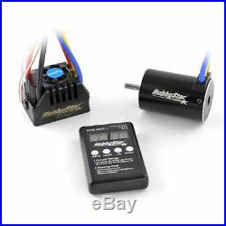 HobbyStar Short Course Combo 80A Brushless ESC 3500KV 550 4-Pole Motor 5.0mm