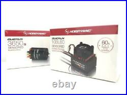 Hobby Wing Quicrun Combo Brushless 60A ESC + Motor 3650 Sensored 13.5T