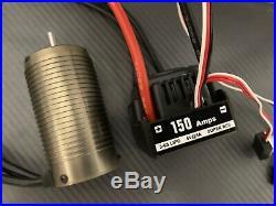 Hobbywing 1/8 WP-8BL150 2200KV RC Brushless ESC Motor Combo System 6S