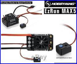 Hobbywing 30104000 EZRUN MAX5-V3 Brushless WP ESC 1/5 Buggy / Truggy 3-8S Lipo