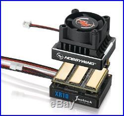 Hobbywing Brushless Sensored 60 Amp ESC 10.5T 3300Kv Motor Combo 1/10 Scale