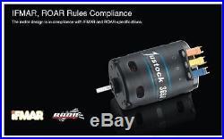 Hobbywing Brushless Sensored 60 Amp ESC 17.5T 1900Kv Motor Combo Rock Crawler