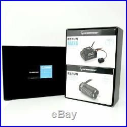 Hobbywing EZRUN Brushless MAX6 ESC + MAX6 4985SL 1650KV Black Motor Combo
