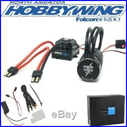 Hobbywing EZRun Max8 Waterproof Brushless ESC / 2600kV Motor Combo 1/8 TRAXXAS