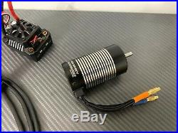 Hobbywing Ezrun Max10 SCT 80A 1/10 3665 3200KV RC Brushless ESC Motor Combo TRX