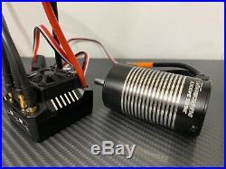 Hobbywing Ezrun Max10 SCT 80A 1/10 3665 3400KV RC Brushless ESC Motor Combo Dean
