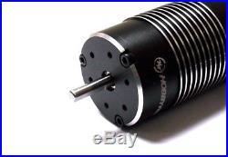 Hobbywing Max8 Combo 6S ESC Ezrun Brushless 2200kv Motor 1/8 Traxxas Plug Revo