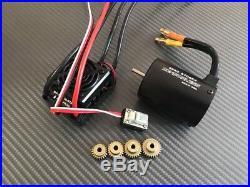 Hobbywing WP-10BL50 50A & 2700KV 1/10 3S Brushless ESC Motor Combo System 2-3S