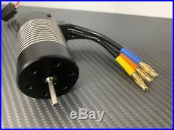 Hobbywing WP-10BL60 3660 3300KV 1/10 Waterproof RC Brushless Esc Motor Combo