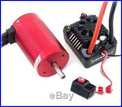 Hobbywing WP MAX10 SCT RTR (2-3S) 80A ESC Brushless 4300Kv Motor Combo Redcat