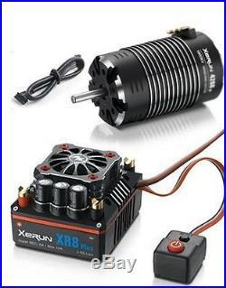 Hobbywing XERUN XR8 Plus 1/8 ESC 2S-6S / G2 4268SD 2250KV Sensored Motor Combo
