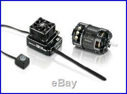 Hobbywing XR10 Pro G2 Sensored Brushless ESC/V10 G3 Motor Combo (17.5T)