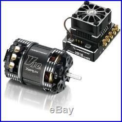 Hobbywing XeRun XR10 PRO ESC with V10 G3 5.5T Sensored Brushless Motor HWI38020230